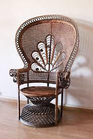 siege en rotin repeindre un fauteuil rotin de style emmanuelle