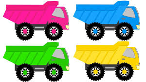 monster truck videos for children toddler learning colors learn about dump children educational
