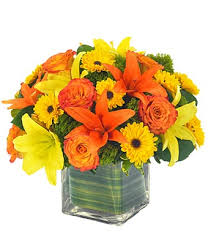 Yellow Lilies Lovely Lily U0026 Rose Bouquet For Fall At From You Flowers