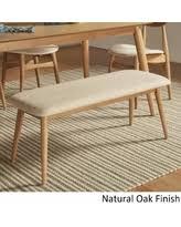 amazing deal on norwegian danish modern tapered upholstered dining