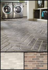 New Houses That Look Like Old Houses by Inspired By Classic Brick Floors And Walkways An Accent Wall In