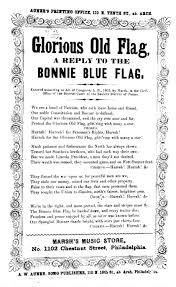 Bonny Blue Flag Glorious Old Flag A Reply To The Bonnie Blue Flag Auner U0027s