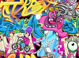 graffiti urban art wallpaper wall mural wallsauce usa graffiti urban art wall mural photo wallpaper