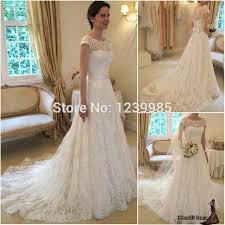 brautkleider vintage style aliexpress modische vestidos de novia scoop kappen