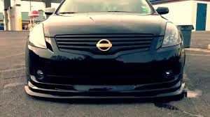 nissan altima coupe gtr front bumper bagged nissan altima coming soon 2014 youtube