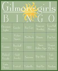 printable thanksgiving bingo gilmore girls revival bingo the best way to watch new gilmore girls