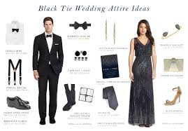 wedding dress code how to decide on your wedding magnificent black tie wedding dress