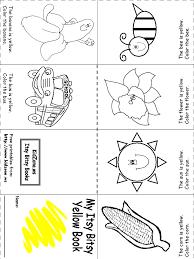week 1 color recognition yellow prek u0026 homeschooling pinterest