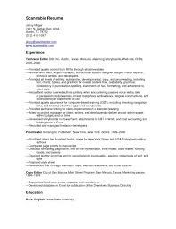 functional resume templates free scannable template microsoft saneme