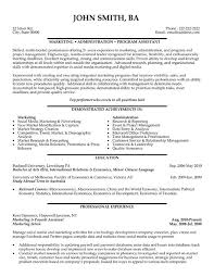 Best Marketing Manager Resume by Doc 12751650 Marketing Assistant Resume Sample Template