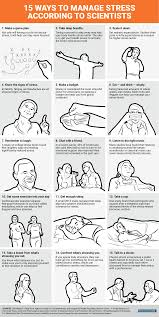 15 ways to manage stress according to scientists infographic