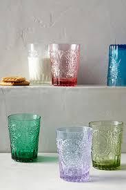 fleur de lis chagne flutes fleur de lys juice glass anthropologie