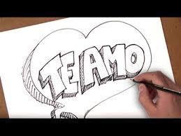 imagenes bonitas de te amo para dibujar como dibujar te amo como dibujar te amo de forma divertida paso