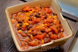 easy slow cooker vegetarian chili layers of happiness