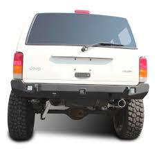 jeep cherokee back jeep xj rear bumper crusader jeep cherokee 84 01 jcroffroad