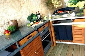 photos cuisine exterieure d ete cuisine d ete exterieur cuisine dactac portable pour profiter