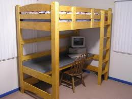 Free Loft Bed Plans For College by Loft Bed Frame Plans The Design Free Diy Furniture Plans To Build