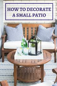 how to decorate a small patio you u0027ll love inspiration for moms