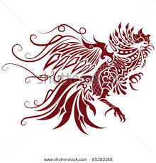 awesome tribal rooster design jpg 450 470 myself