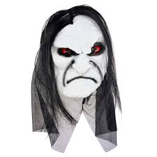 online get cheap long hair devil full head halloween mask