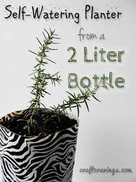 diy self watering planter useful ideas
