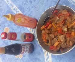 cuisiner chinois porc à la chinoise aux légumes sauce piquante recette le chinois