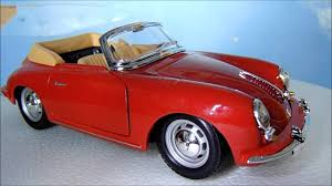 convertible porsche 356 the 1 24 model car club series part 2 porsche 356 b cabriolet