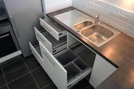 meuble de cuisine avec evier inox meuble de cuisine avec evier inox affordable tiroirs sousvier avec