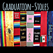 custom graduation sashes graduation stoles on it is not late to order your