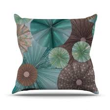 amazing teal pillows teal grey mustard dandelion cushion cover