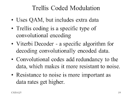 synonym for trellis encoding and transmission of data ppt video online download