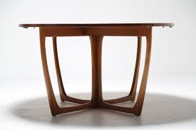vintage teak extending dining table by beithcraft