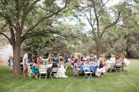 Backyard Weddings Ideas Colorado Backyard Wedding Rustic Wedding Chic