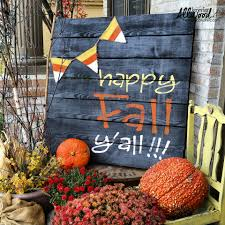 happy thanksgiving lol another painted fall pallet project happy fall y u0027all
