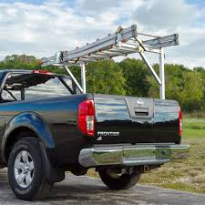 nissan frontier bed rack apex no drill aluminum ladder rack ndalr pickup truck racks