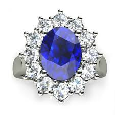 ring diana diana beautiful ceylon blue sapphire and diamond ring