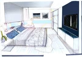 comment dessiner une chambre en perspective dessin chambre en perspective dessin d une chambre en perspective 11