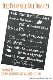 free printable fall bucket list for your family sunny day family