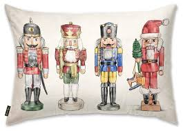 Decorative Nutcrackers Nutcrackers Pillow Traditional Decorative Pillows By The