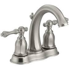 Bathroom Sink Faucets Kohler Brushed Nickel Sink Faucets You U0027ll Love Wayfair
