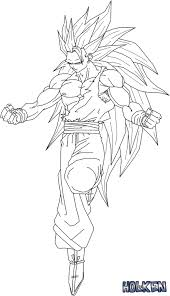 11 images of goku ssj3 coloring pages goku super saiyan 3
