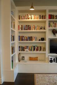 Inbuilt Bookshelf Joinery Configuration Like This To Take Up Tv Wall And Conceal All