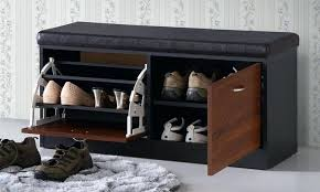 modern bench with storage modern shoe storage bench uk
