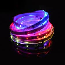 lpd6803 dc12v series led lights programmable pixel
