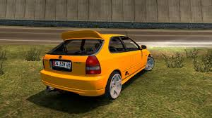 honda civic hatchback modified honda civic hatchback v2 car mod euro truck simulator 2 mods