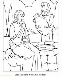 preschool coloring pages woman at the well rainbow fish coloring pages preschoolers 11759