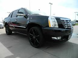 new 2012 cadillac escalade ext premium for sale dallas