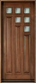 single door design modern front door design single solid cherry wood with walnut