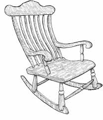 Rocking Chair Miami Rocking Chair Drawing Google Search 100 Things Drawing