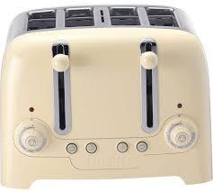 Cream 4 Slice Toaster Buy Dualit 46201 4 Slice Toaster Cream At Argos Co Uk Your